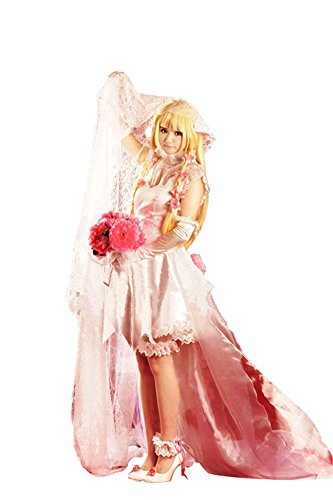 Mtxc Women's Chobits Cosplay Costume Chi Dress 3rd
