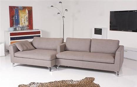 Christine Krönke by Machalke - Byron - sofá tela gris ...