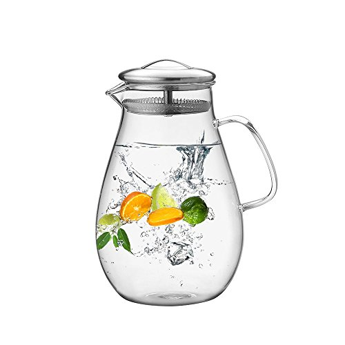 64 ounce pitcher with lid - 2