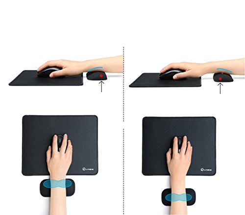 41aTI5UaF4L - Non-slip-Gel-Mouse-Pad-with-Wrist-SupportLvneng-Ergonomic-Stitched-Edges-Gaming-Wrist-Rest-for-Home-Office-Computer-LaptopBlack