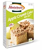 Manischewitz Apple Crumb Cake Mix With Real Apples Kosher For Passover 12 oz. Pack of 3.