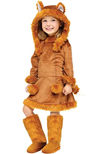 Sweet Fox Toddler Costume (3T-4T)