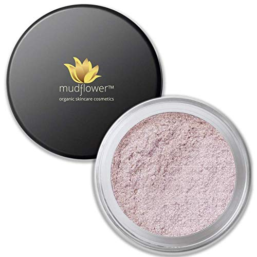 Mudflower Cosmetics Organic Pink Radiance Powder Veil, 1.0 ounce