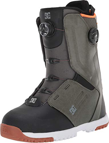 DC Control Dual Boa Snowboard Boot Olive Camo 7.5