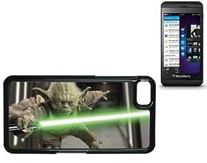 Blackberry Z10 Case With Printed High Gloss Insert Yoda