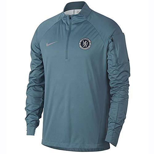 - NIKE 2018-2019 Chelsea Drill Training Top (Teal)