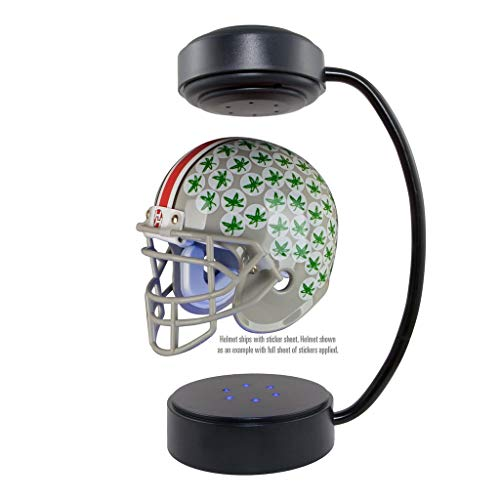 Ohio State Buckeyes  NCAA Hover Helmet - Collectible Levitating Football Helmet with Electromagnetic Stand ()