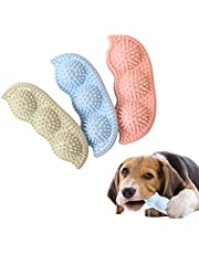 Dog Chew Toy for Teething, 2-8 Months Durable Puppy Teething Chew Toys 360° Clean Pet Teeth & Soothe Pain of Teeth Growing Puppy Toys Suitable for Small and Medium Dogs (3 Pcs)