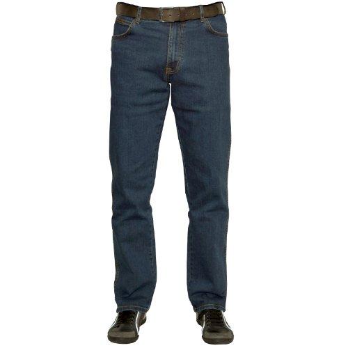 Wrangler Herren Texas Jeans, DARK-WASH, 46W / 34L