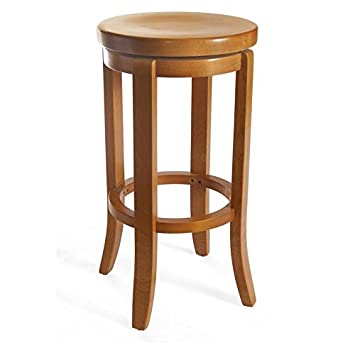 Tremendous Beechwood Mountain Champagne 30 Backless Swivel Bar Stool In Cherry Squirreltailoven Fun Painted Chair Ideas Images Squirreltailovenorg