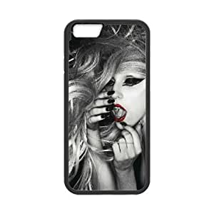 Lady Gaga iPhone 6 4.7 Inch Cell Phone Case Black MSY223757AEW