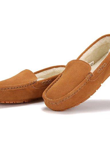 Botas Uk6 Comfort Mocasines Cn40 Eu39 us8 Plano Tacón marrón Trabajo 5 Mujer Zapatos us8 Gris Zq Y De Taupe 5 Casual Ante Nieve Vestido 5 Rojo Oficina Brown S8wXqBYF