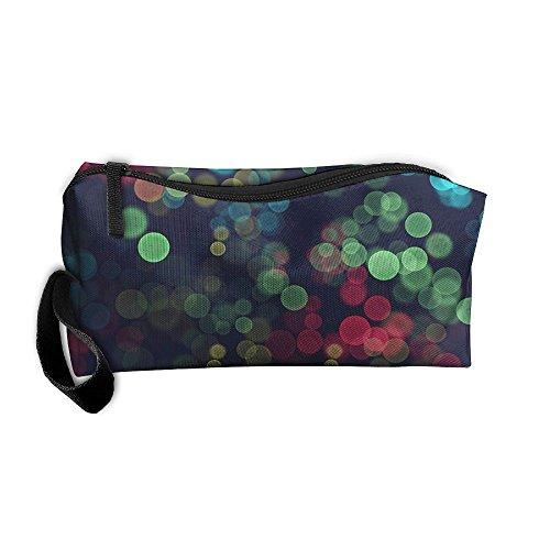 Light Bubbles 3D Printing Zipper Closure Cosmetic Makeup Bag Pencil Pen Case Travel Bag Tote For - White Sunglasses Bubble