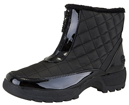 Totes Women's Slope Waterproof Winter Snow Boot (10 B(M) US, Bl