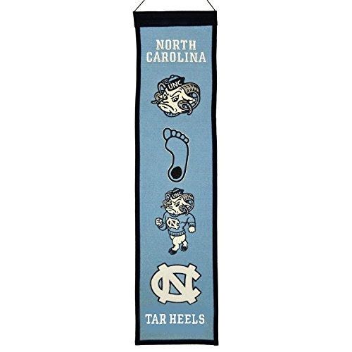 North Heels Carolina Champion Tar - NCAA North Carolina Tar Heels Heritage Banner