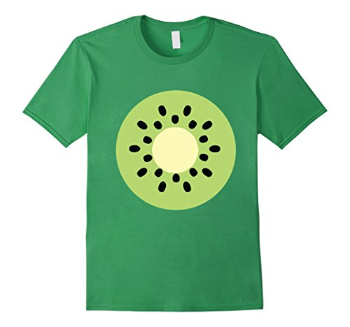 Mens Kiwi Fruit Green Super Cute Cheap Halloween Costume Tee Large (Super Cute Couples Halloween Costumes)