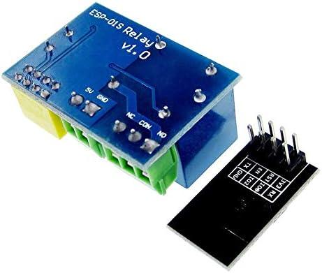 5V M/ódulo de rel/é WiFi Smart Home Remote Control Smart Socket-Multicolor RoadRoma Esp8266 Esp-01S
