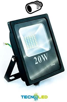 Foco Proyector Led Smd Serie Hogar 230V 20W 120º - UNICA, 2700K ...