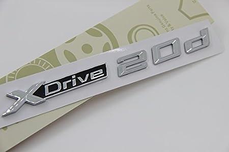 E820 X Drive 20d Emblem Badge Auto Aufkleber 3d Schriftzug Hinten Abzeichen Xdrive Car Sticker Abziehbild Auto