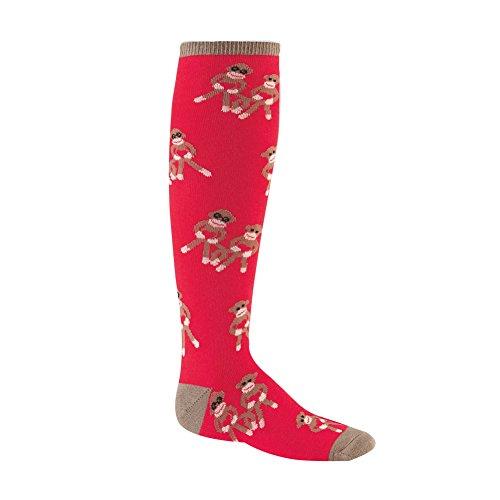 Sock It To Me, Sock Monkey Love, Junior Knee-High Socks, Sock Monkey Socks