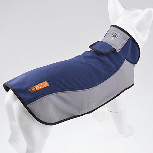 Fosinz Outdoor Waterproof Dog Jacket Cold Weather Coat (3XL(Length:29