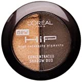 L'oreal Paris Hip Studio Secrets Professional Concentrated Shadow Duos, Saucy, 0.08 Ounce,(Pack Of 2)