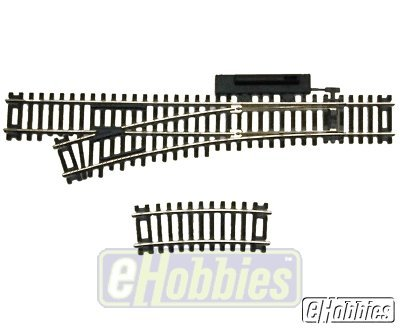 Code 83 Nickel Silver Manual Snap Switch Left HO Scale Atlas (Ho Code 83 Snap Switch)