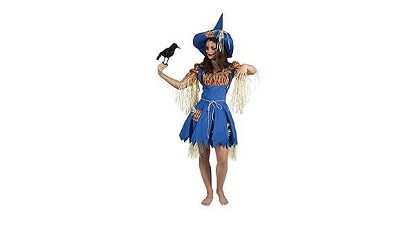 mágica payaso Mujer Halloween Carnaval Disfraz Jardinera Set, Espantapájaros, M, multicolor: Amazon.es: Juguetes y juegos