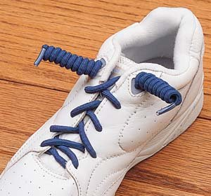 Coilers Shoelaces, Color: Black by North Coast Medical