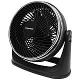 Impress 8-Inch Turbo Velocity Fan - Superior Airflow - Unmatched Range of Motion - Stylish - 3-Speed - 1 Year Warranty