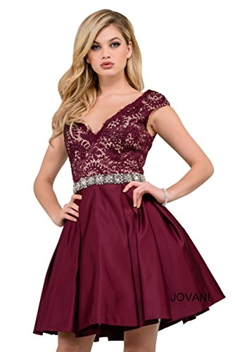 Jovani Cocktail Fall Ball Gowns Partywear Collection Women's Short Cocktail Dress (47660)