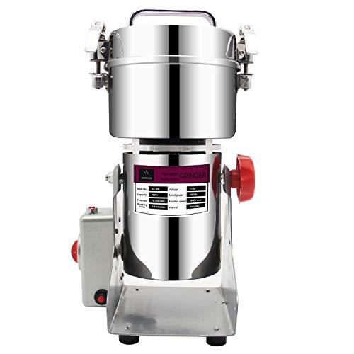 BAOSHISHAN 300g Electric Grain Grinder Swing Type Spice Herb Mill Coffee Rice Pulverizer Powder Machine 110V