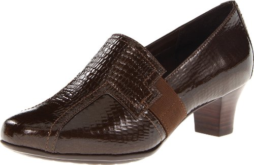 Aravon Womens Estelle, Lucertola Marrone, 8