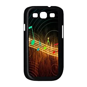 Samsung Galaxy S3 9300 Cell Phone Case Black Musical Note I8263388