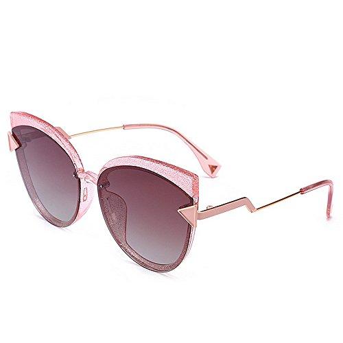 de Sol para Vacaciones Gato Ojos Gafas polarizadas Triángulo Protección Mujeres Decoración la UV Conducción al Libre para C5 Peggy Color Gu de Playa C5 Aire Exquisito q18PPz