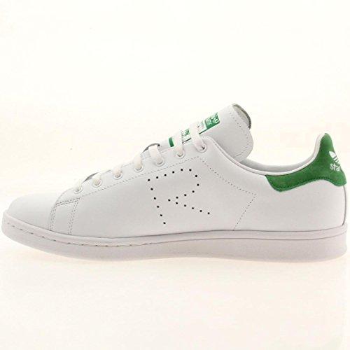 Adidas X Raf Simons Heren Stan Smith Wit / Groen