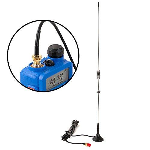 Rugged Radios DB-5R-MAG Dual Band (UHF/VHF) Magnetic Mount Antenna for Rugged Radios RH-5R Two Way Handheld Radio by Rugged Radios