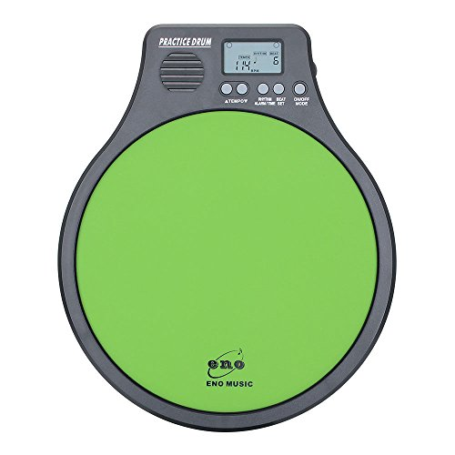 Eno Built-in Electronic Practice Pad and Metronome 2 in 1 Percussion Practice Tool by ENO MUSIC