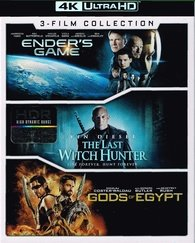 Ender's Game/The Last Witch Hunter/Gods of Egypt 4K Ultra HD 3-Film Collection