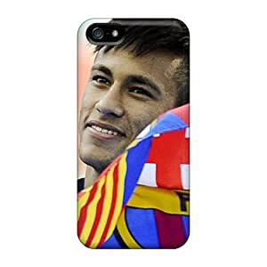 New The Best Football Player Of Barcelona Neymar Tpu Skin Case Compatible With Iphone 5/5s