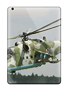 New Style 4092462K43897525 Tpu Case Cover Compatible For Ipad Air/ Hot Case/ Helicopter Military Man Made Military