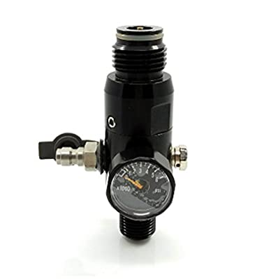 """Paintball 4500psi Regulator HPA High Compressed Air Tank Valve Output 1800psi 5/8""""-18UNF Threads in Tank"""