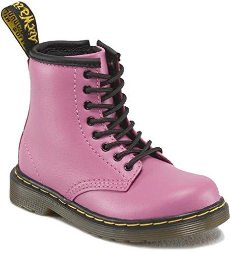 Dr. Martens Girl's Brooklee Pink Boot 8 M UK, 9 M