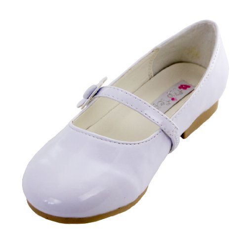 (Darling Party Shoes with Daisy for Girls (Childrens 12,)