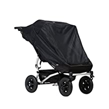 Mountain Buggy Duet Double Cover, Black