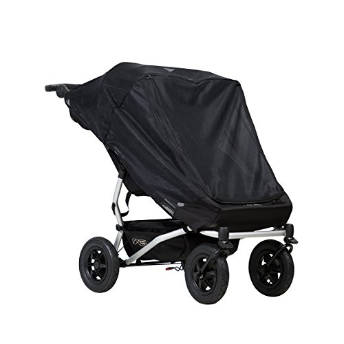 - Mountain Buggy Duet Double Cover, Mesh, Black