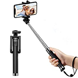 Bluetooth Selfie Stick, Mpow Extendable Monopod Clamp Phone Holder with Wireless Remote for Travel Family Photos…
