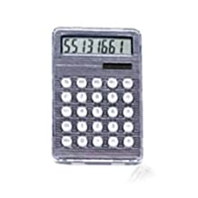 StealStreet 4231-BLACK Black Solar and Battery Powered Calculator