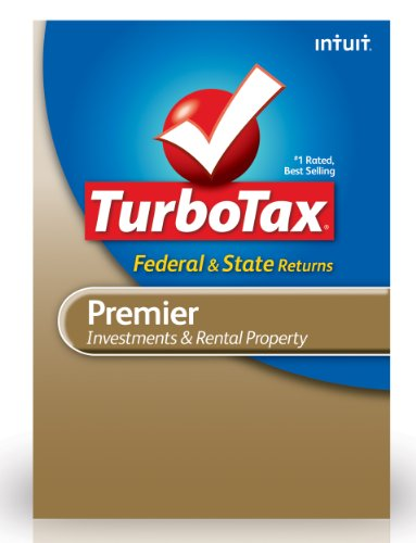TurboTax Premier Federal + E-File + State 2012 for PC [Old Version] by Intuit