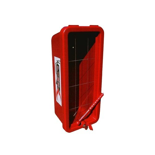 - CATO 10551-H Red Plastic Chief Fire Extinguisher Cabinet for 2-1/2 or 5 lb. Extinguisher, with Hammer and Cylinder Lock